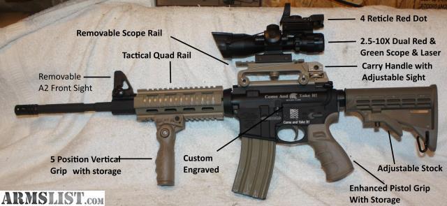 Armslist For Sale Anderson Custom Molon Labe Black