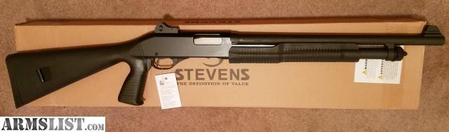 armslist for sale new savage stevens 320 pistol grip 12 ga rh armslist com stevens model 320 shotgun owners manual Stevens 320 Shotgun Disassembly