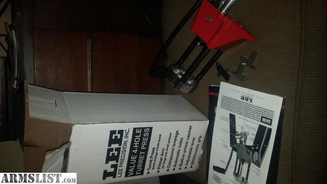 lee 3 hole turret press manual