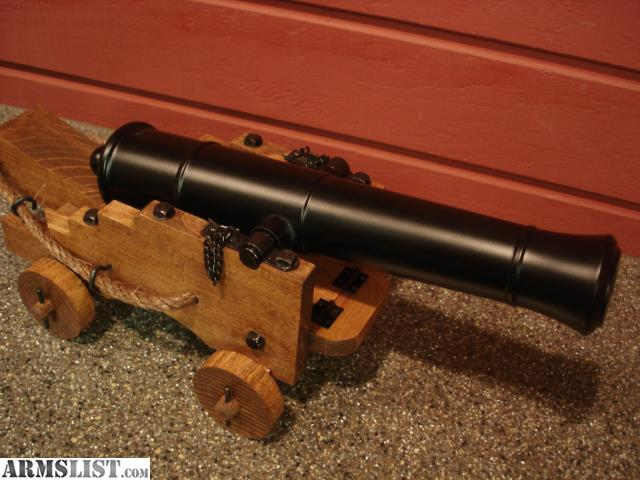 Black Powder Cannon 68