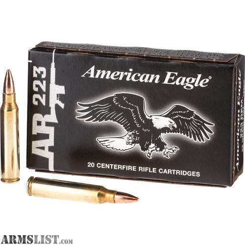 For Sale: .22 And .223 Ammo