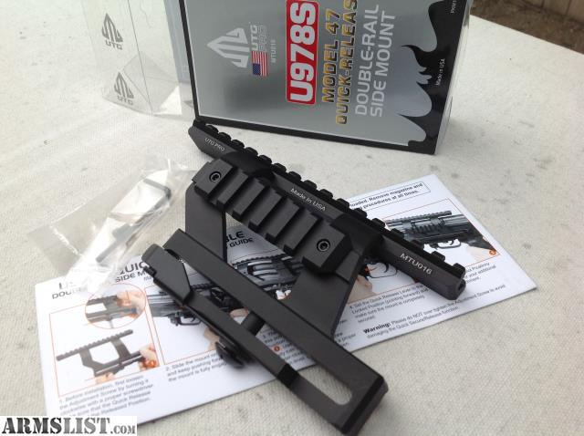 ARMSLIST - For Sale: Quick release AK scope mount