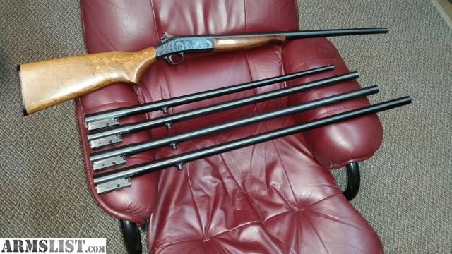 For sale new england firearms 28 gauge single shot and extra barrel