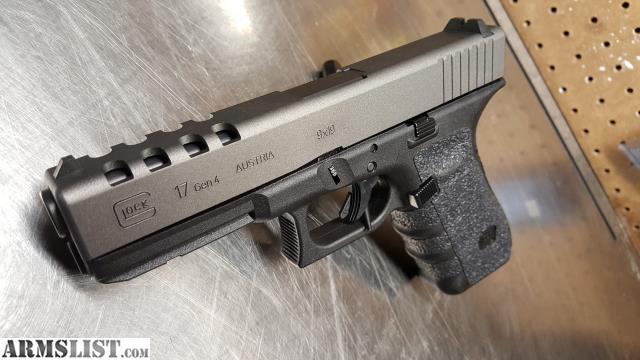 ARMSLIST - For Sale/Trade: Custom glock 17 Gen 4 - unfired