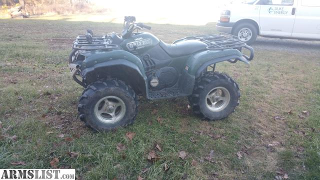 Armslist for sale 2006 660 grizzly for 2006 yamaha grizzly 660 value