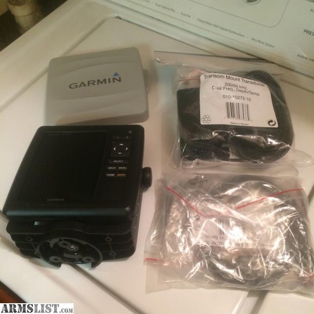 armslist - for sale: garmin 547xs gps/sounder, Fish Finder