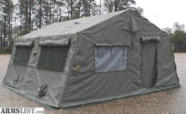 ARMSLIST - For Sale: NEW ARMY EXPANDABLE TENT