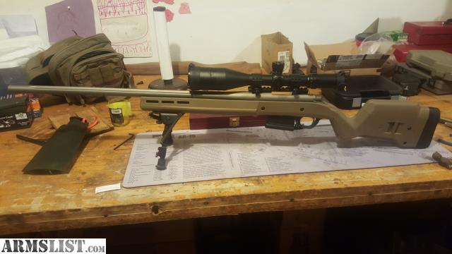 ARMSLIST - For Sale/Trade: Remington 700 in magpul stock