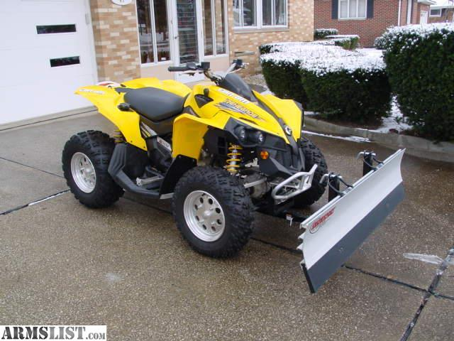 armslist for sale 2008 can am renegade 800 efi with less than 16 hours and 115 miles. Black Bedroom Furniture Sets. Home Design Ideas