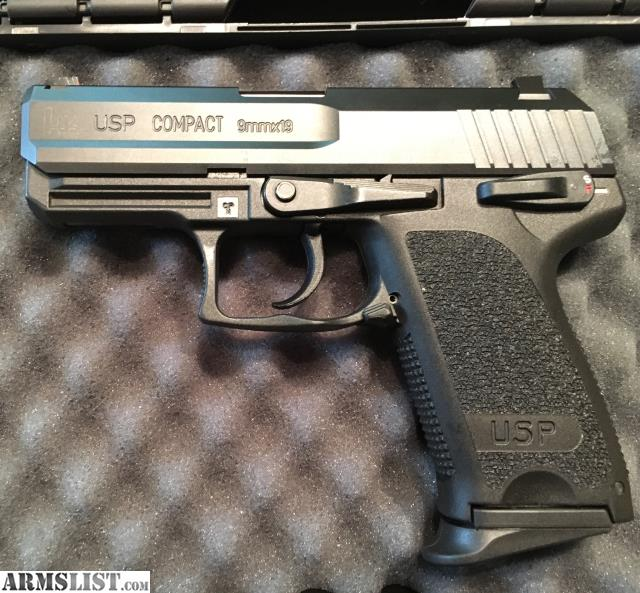 ARMSLIST - For Sale: HK USP Compact V1 9mm w/Extras