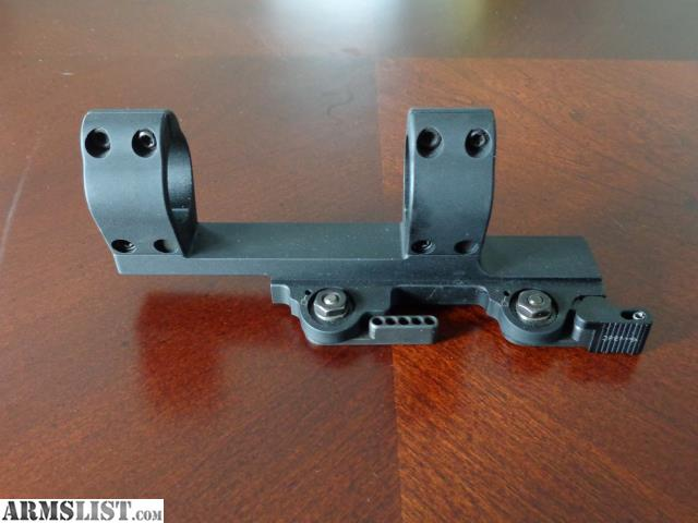 I am selling my LaRue QD Scope Mount. It was never mounted or used and sat  beside the scopes in the safe. I purchased two of them last year and have  already ...