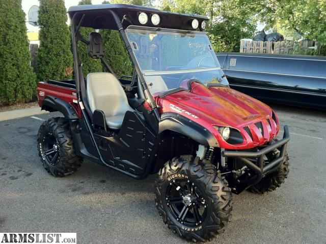 Armslist for sale 2009 yamaha rhino 700 for Yamaha grizzly 700 for sale