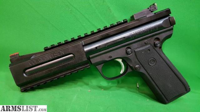 Armslist For Sale Ruger Pistol 22 45 Mk Iii W