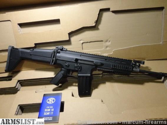 ARMSLIST - For Sale: SCAR 16 POST SAMPLE MACHINE GUN 223 NEW