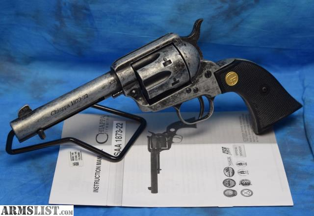 chiappa saa 1873 22 single action 22 caliber revolver. Black Bedroom Furniture Sets. Home Design Ideas