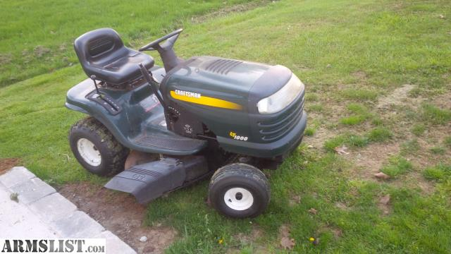 Armslist for sale trade craftsman lawn tractor motor blown for Lawn tractor motors for sale