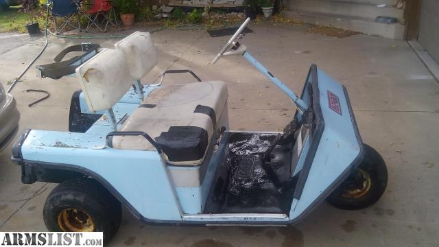 I Have A Old Mid 70s Gas Golf Cart The Motor Starts Right Up When You Give It Runs Great Hauls My Ass Around Yard Would Be For