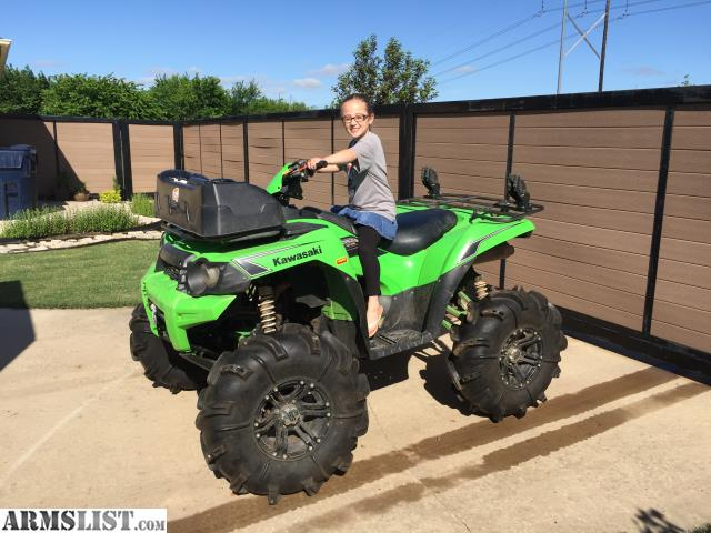 armslist for sale trade 4x4 4 wheeler kawasaki brute force 750i atv. Black Bedroom Furniture Sets. Home Design Ideas