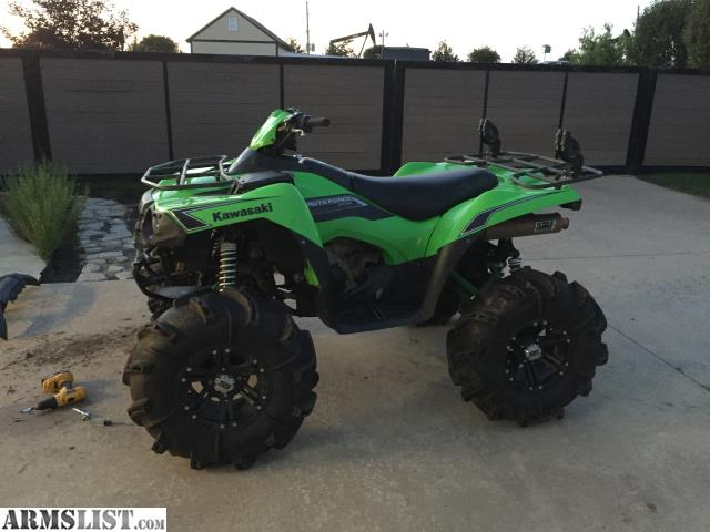 armslist for sale trade 4x4 kawasaki brute force 750i atv. Black Bedroom Furniture Sets. Home Design Ideas