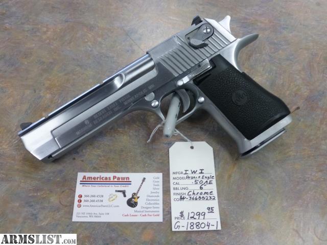 Sw Washington Handguns For Sale Iwi Desert Eagle 50ae