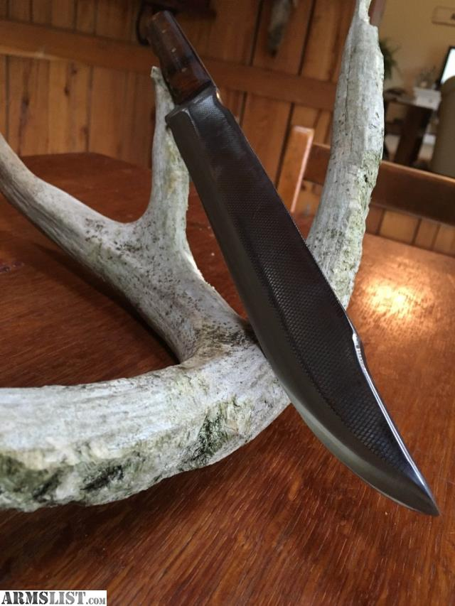 handmade bowie knives for sale armslist for sale handmade bowie knife 9410