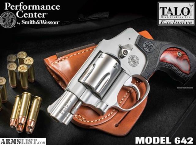 Armslist For Sale S Amp W 642 Pc 38spl 2 Quot Talo 38 Special