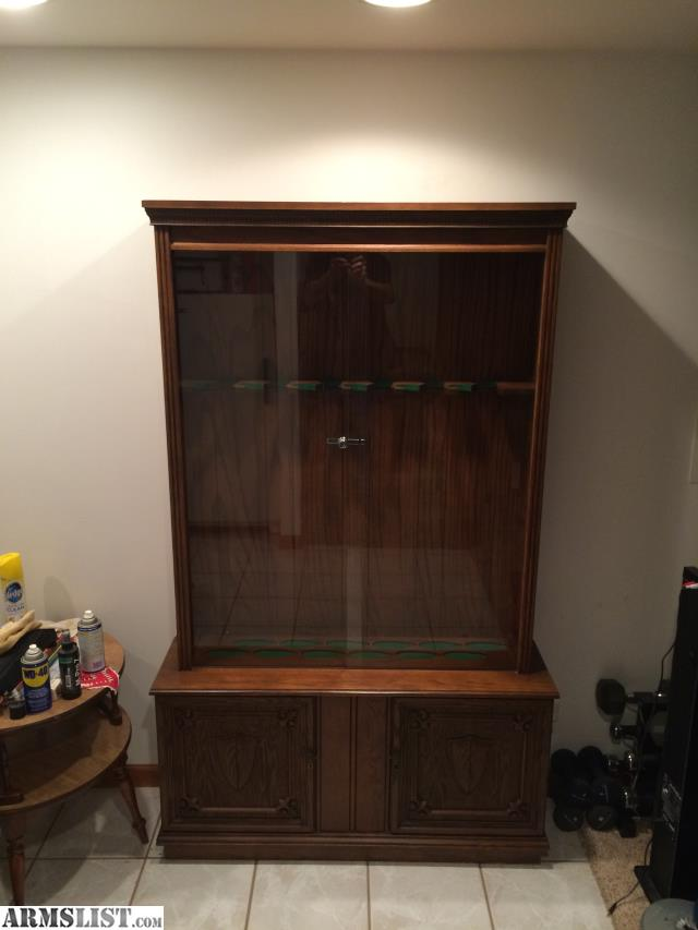 Armslist for sale gun cabinet for Upper cabinets for sale