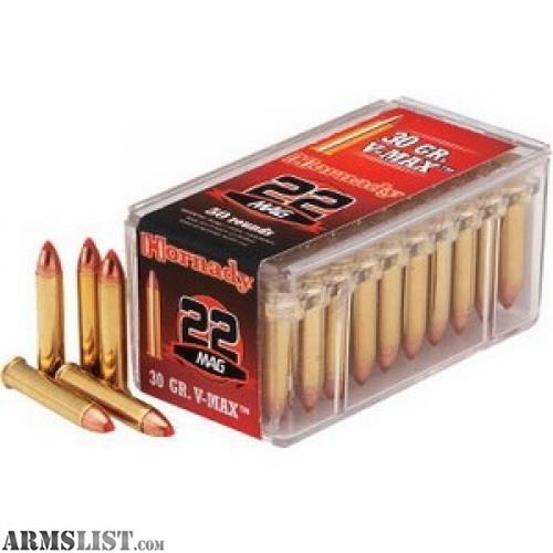 Armslist for sale 22 winchester magnum ammo