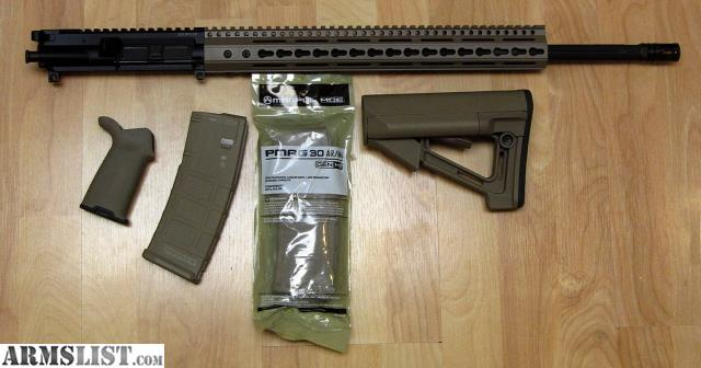 Armslist For Sale Trade Ar Build Kit 223 Wylde Upper Magpul Furniture Magazines