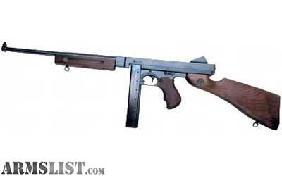 ARMSLIST - For Sale: Auto Ordnance 1927M1 LAYAWAY Tommy Gun