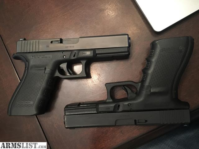Armslist for sale 2 g4 glock 21 s