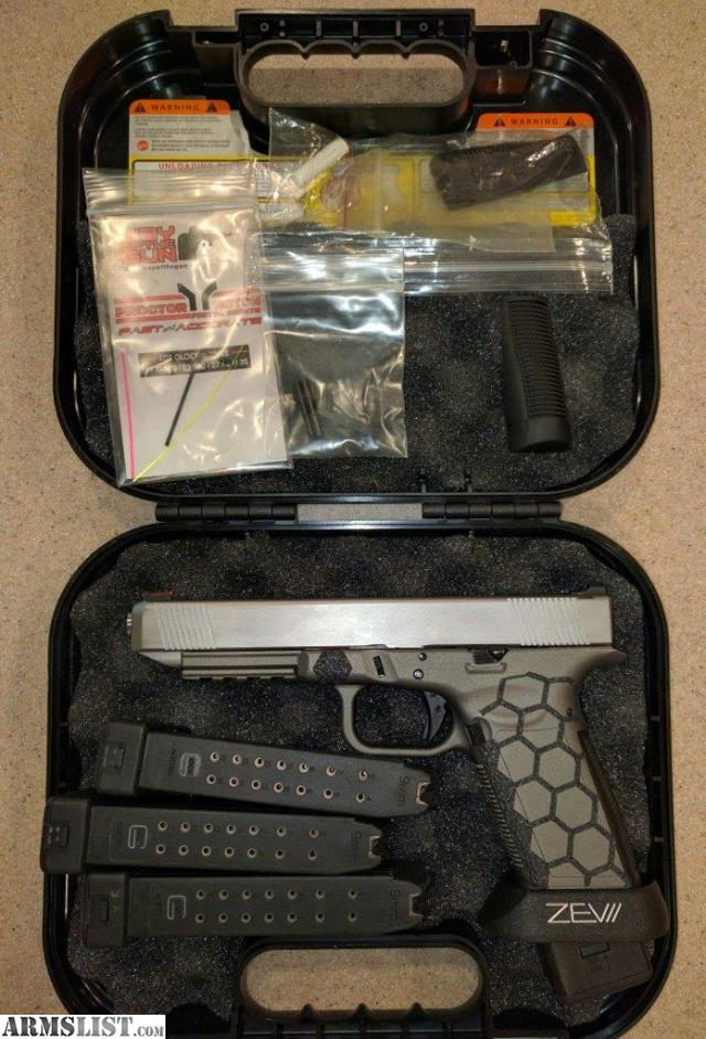 ARMSLIST - For Sale: CCF Race Glock 34 All Metal Frame PRICE DROP