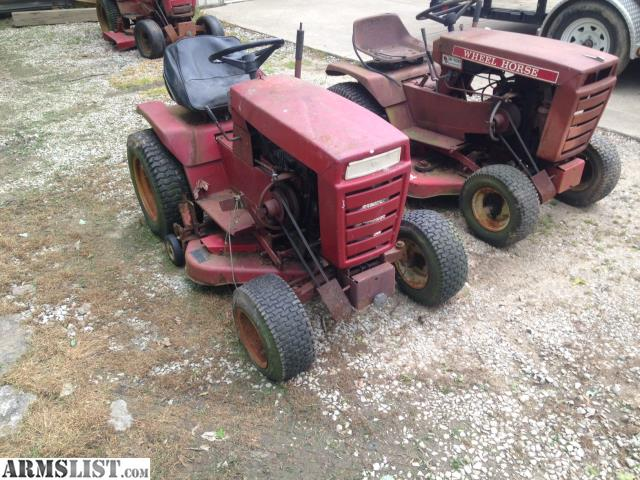armslist for sale trade vintage garden tractors ford and wheel horse