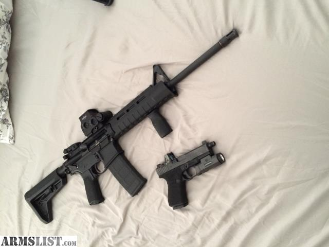Armslist for sale trade ruger ar eotech
