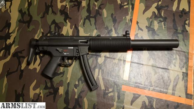 armslist for sale hk mp5sd 22lr by walther