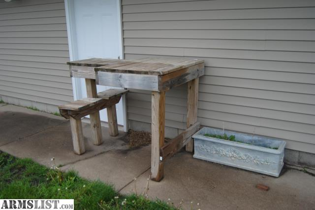 Armslist For Sale Witter Benches Shooting Bench