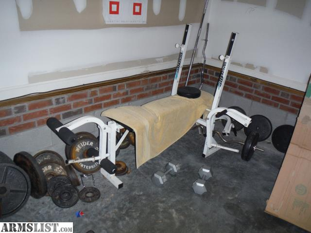 Armslist For Sale Weight Bench Weights