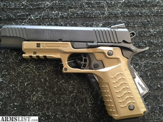 armslist for sale used citadel 1911 recovery 9mm. Black Bedroom Furniture Sets. Home Design Ideas