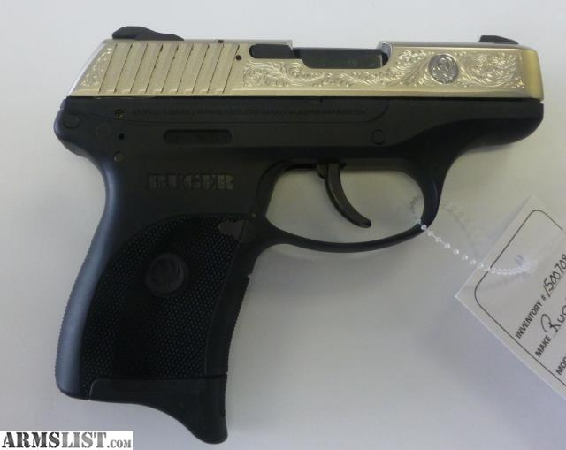 Ruger lcp gold logo talo model 3715 new for sale.