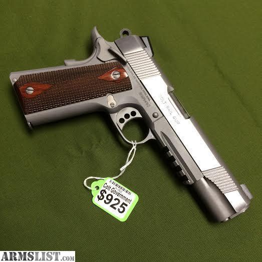 Colt Rail Gun 1911 For Sale