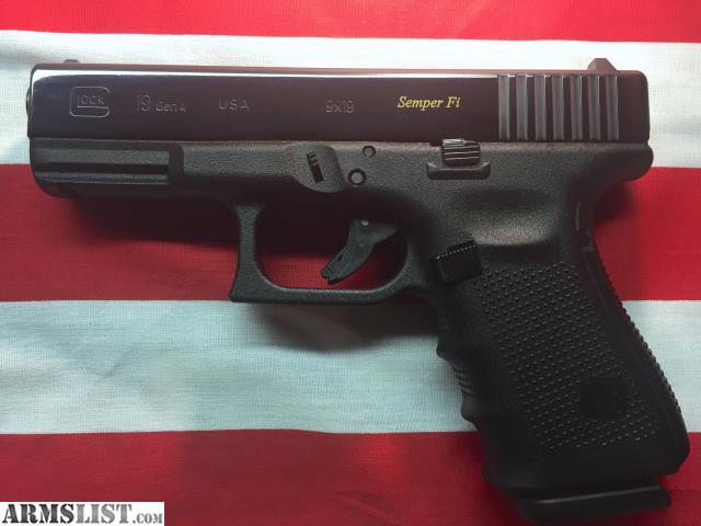 ARMSLIST - For Sale: New USMC Gen 4 Glock 19 Semper Fi ...