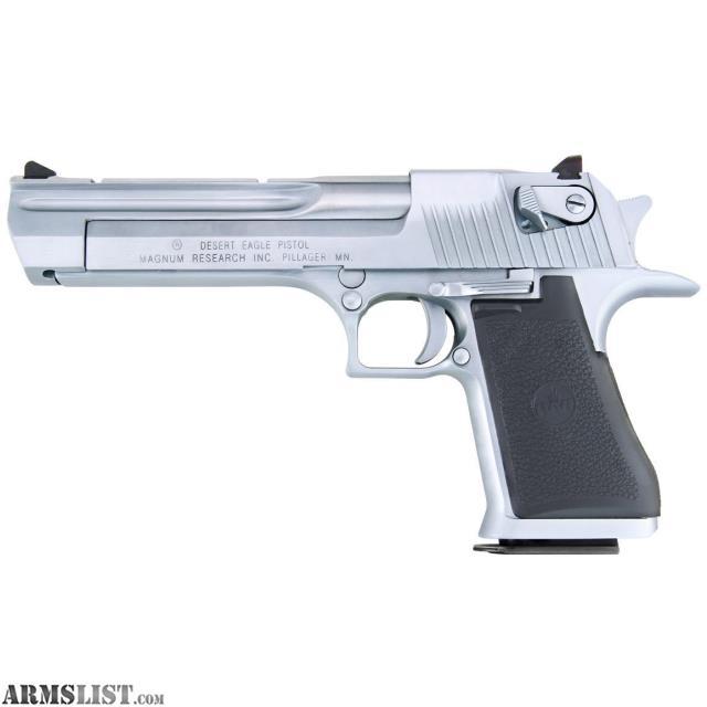 armslist for sale magnum research desert eagle 44 magnum 6 brushed chrome pistol. Black Bedroom Furniture Sets. Home Design Ideas