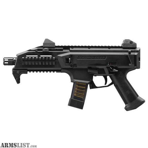 armslist for sale cz scorpion evo 3 s1 9mm semi auto. Black Bedroom Furniture Sets. Home Design Ideas