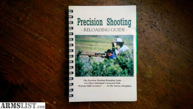 armslist for sale precision shooting reloading guide by dave rh armslist com precision shooting reloading guide pdf precision shooting reloading guide for sale
