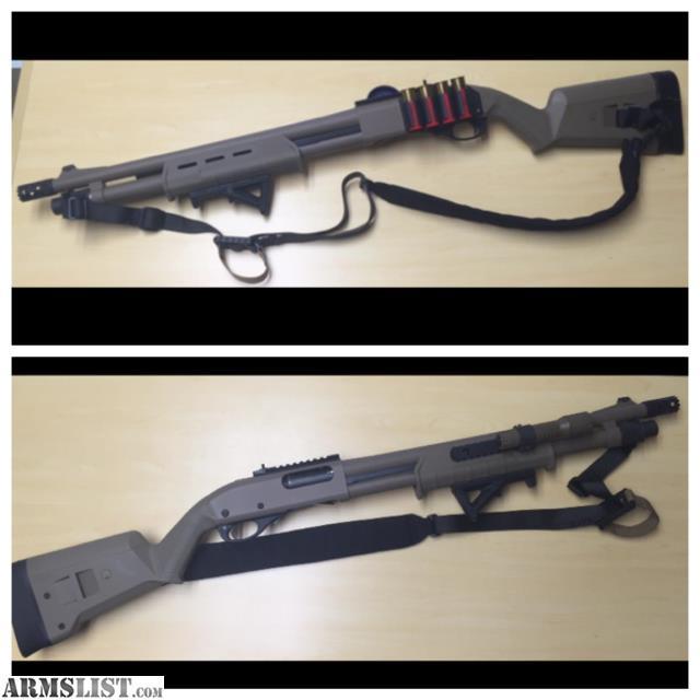 armslist for sale remington 870 magpul fde tactical
