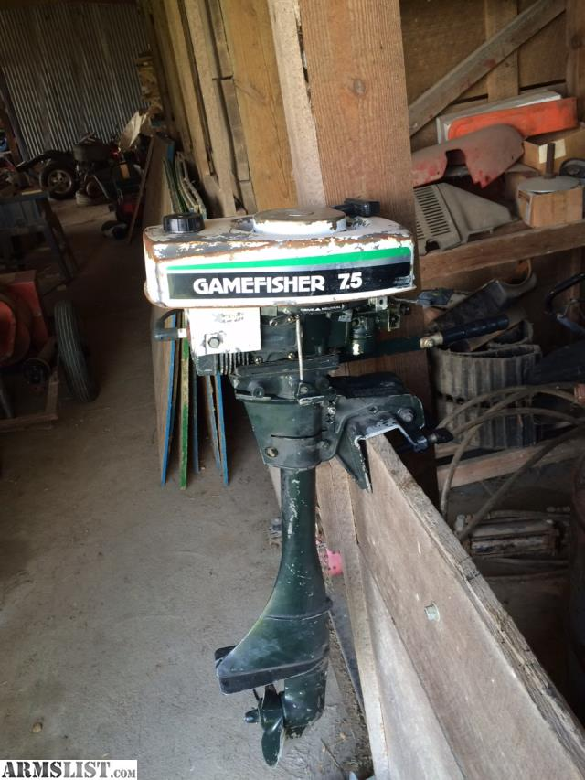 Armslist for sale sears gamefisher 7 5hp outboard boat Best 15hp outboard motor