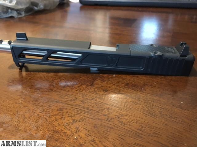 ARMSLIST - For Sale/Trade: Gen 4 Glock 17 Custom Milled Slide