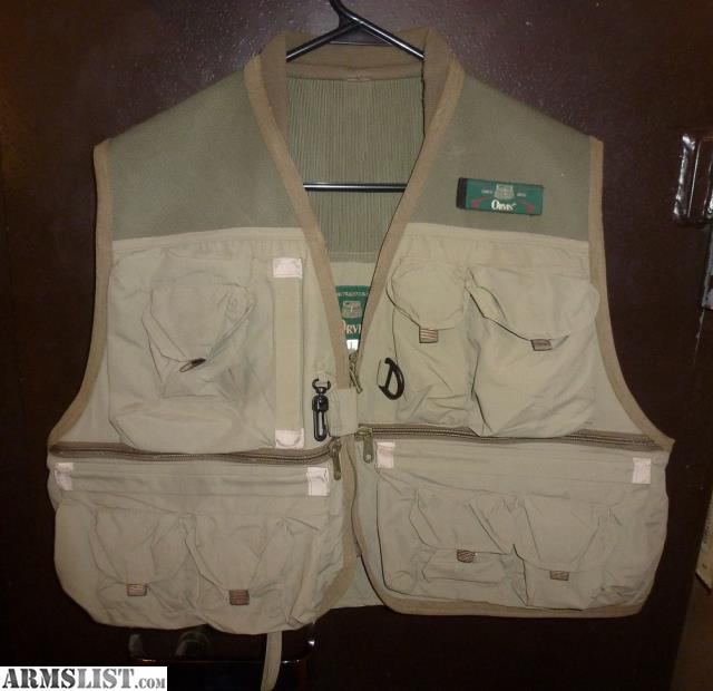 Armslist for sale orvis fly fishing vest size large new for Orvis fishing vest