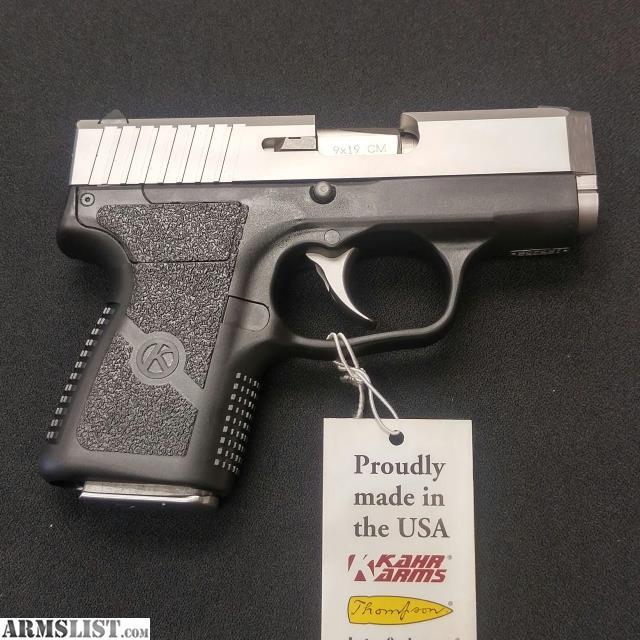 Armslist For Sale Kahr Cm9