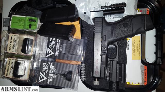 Armslist for sale trade tactical glock 30